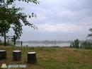 Кратковременный туман над морем, для лета очень редкое явление